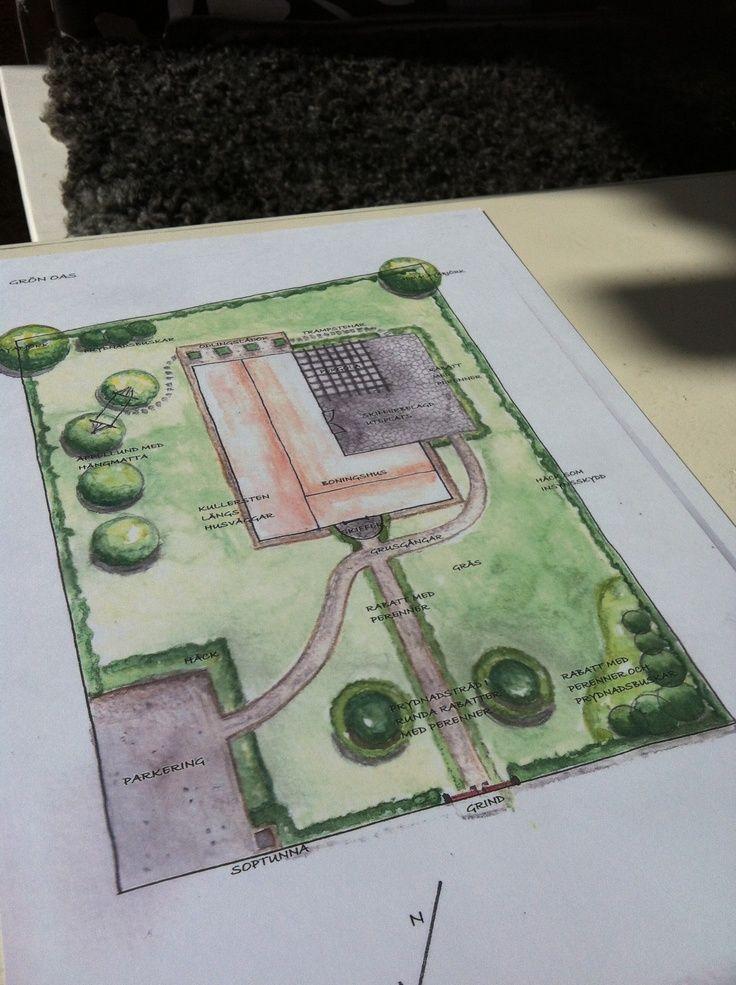 planritning för trädgård - Sök på Google