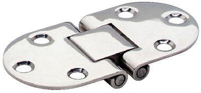 1-1/2 x 3 FLUSH HINGE Stainless Steel