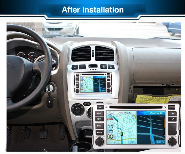 2DIN Android OCTA/Quad Core Fit HYUNDAI SANTA FE 2006 2007-2011 2012Car DVD Player Multimedia GPS DVD NAVIGATION NAV head unit