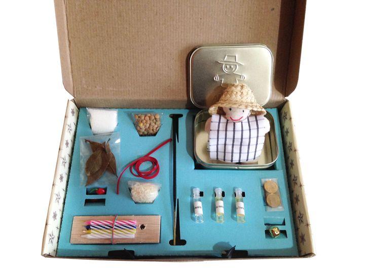 #kitdeAñoNuevo!  El kit contiene: - 1 muñequito de año viejo: Renovación - 3…
