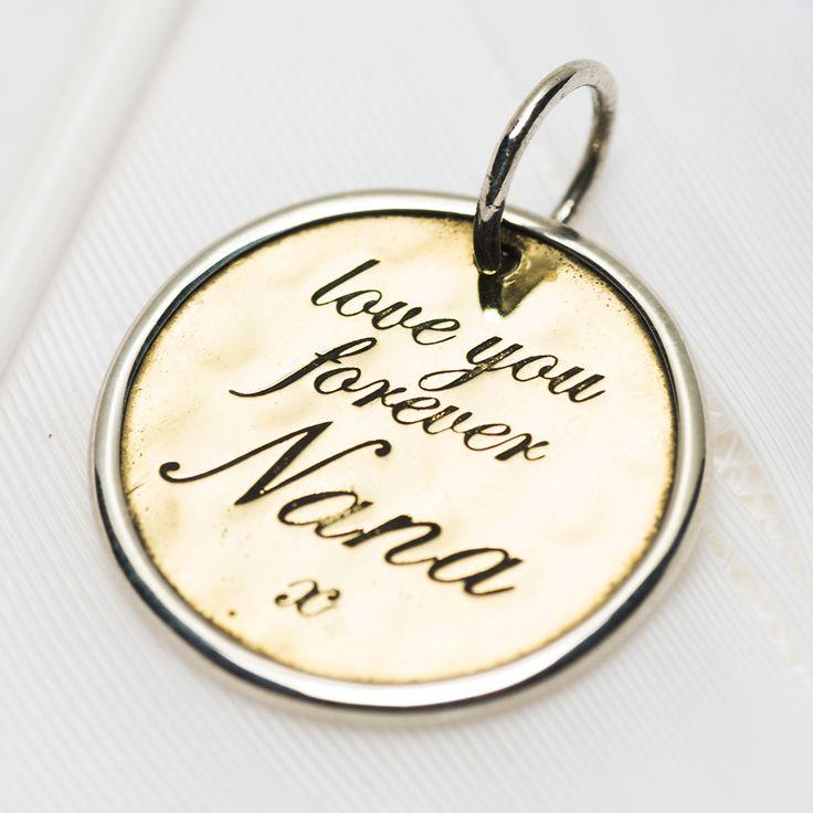 "3033 > Nana charm | Palas Jewellery ""love you forever Nana"" #giftideas #lifestyleelements #concierge"