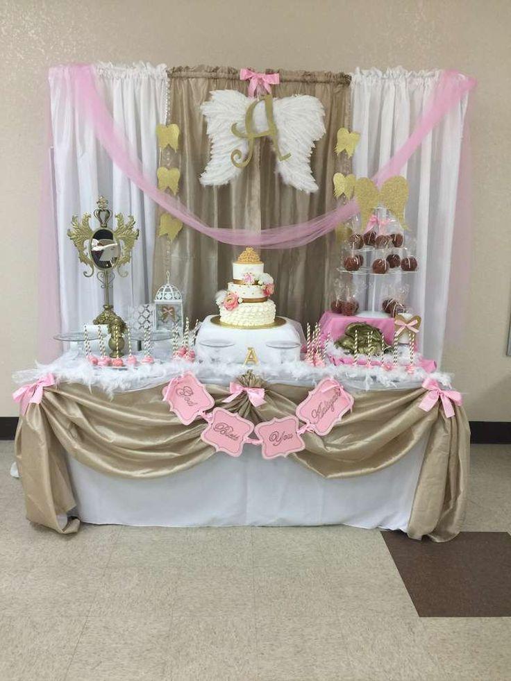 angel heaven baptism party ideas