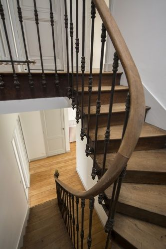 44 best Escaliers images on Pinterest Stairs, Stairways and Banisters - soubassement d une maison