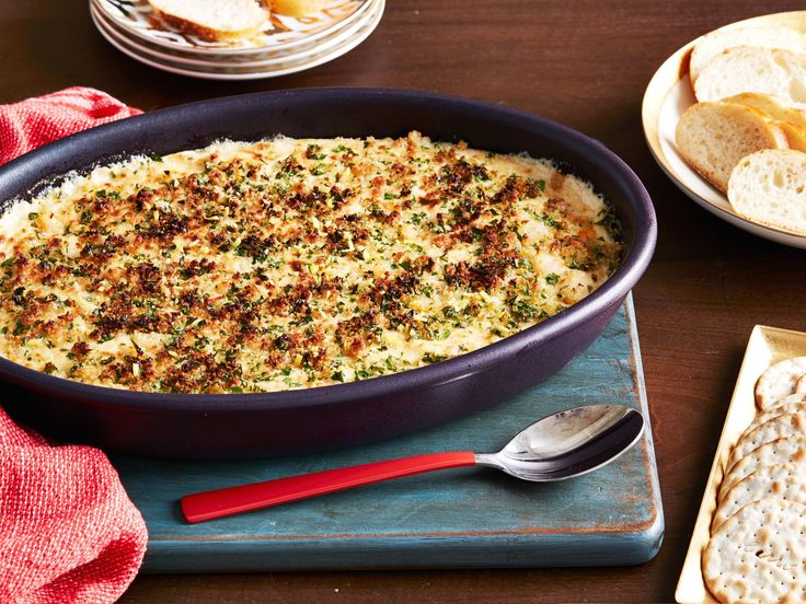 Creamy Shrimp Scampi Dip recipe from Food Network Kitchen via Food Network