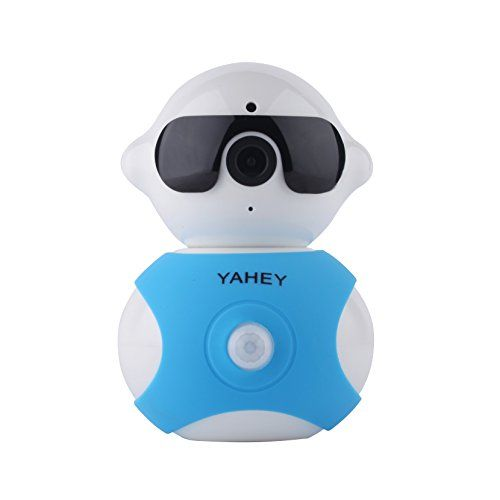 WiFi IP Camera,1280X960p HD Baby Monitor 355° Pan Surveillance System Motion Tracking with Audio,Night Vision,Image Touch Navigation (Blue Coat) | Baby Video Monitor Reviews And Ratings