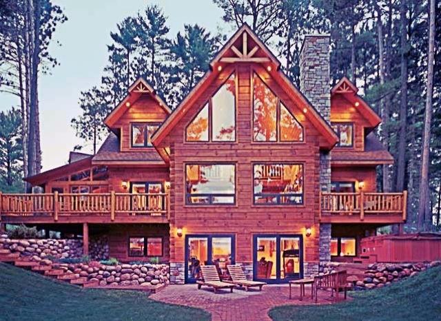 36 best log cabin lust images on Pinterest   Home ideas, Log cabins ...