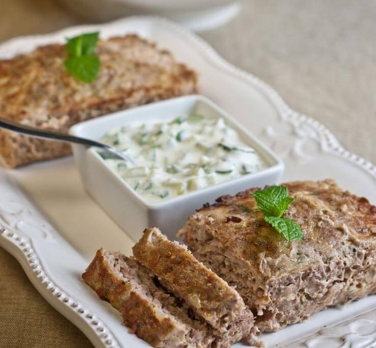 This easy Greek Meatloaf is delicious and fragrant with flavors reminiscent of Gyro meat. Lightly spiced with mint, citrus and fennel.
