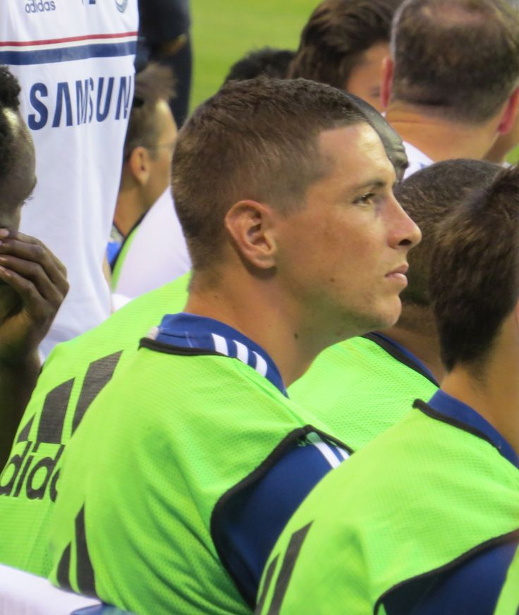 Fernando Torres. Chelsea 2-0 Internazionale. International Champions Cup. Thursday, August 1, 2013.