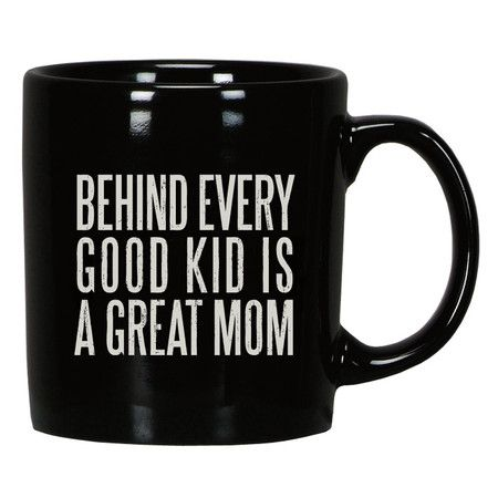 Black White 'Great Dad' Mug