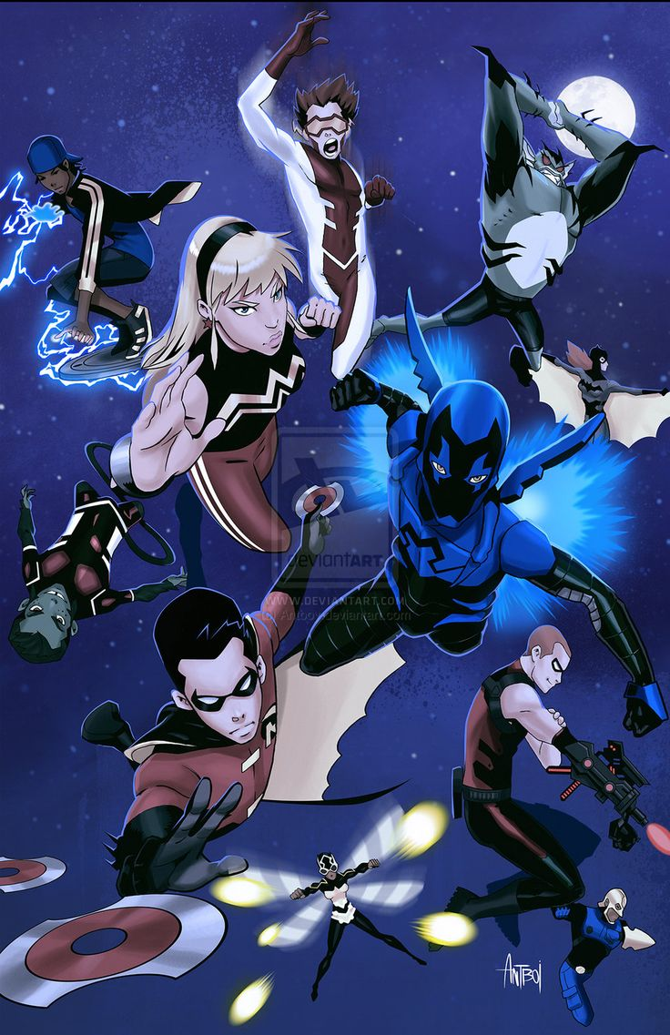 Young Justice: Season 2 Print by Antboy.deviantart.com on @deviantART