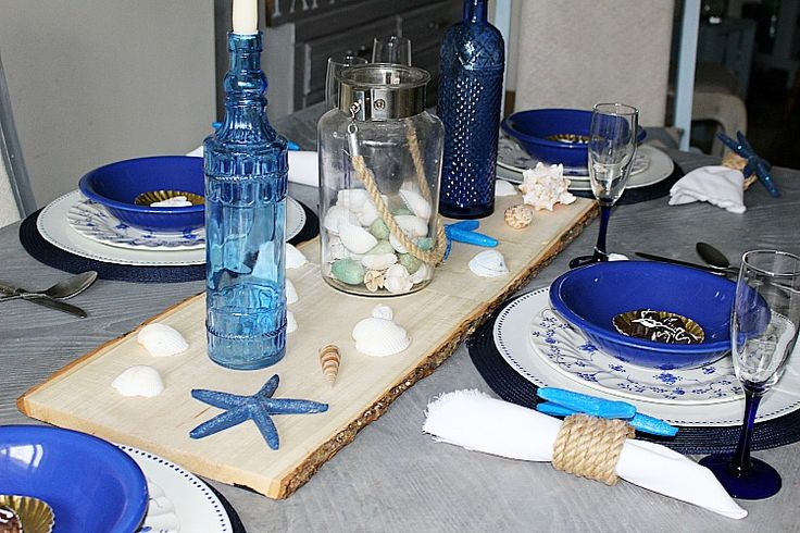 How To Create A Coastal Inspired Summer Tablescape