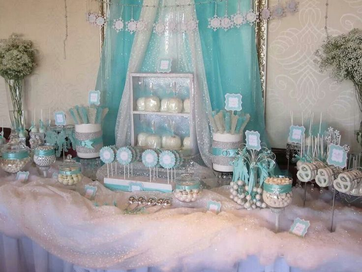 Baby its cold outside-baby shower by Sweet Celebrations and Candy Creations