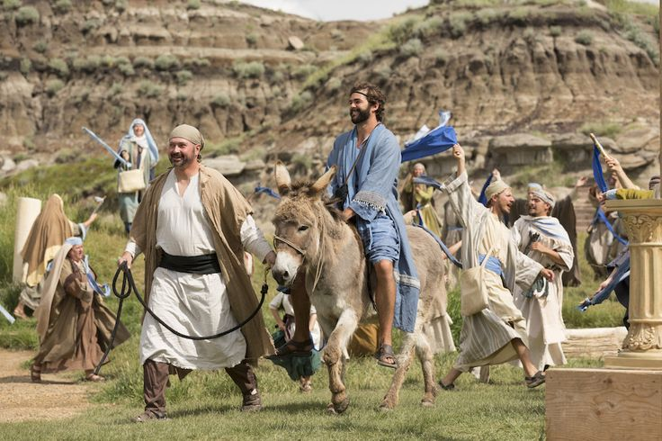 The Canadian Badlands Passion Play is the world's only portrayal of the life of Christ, which intentionally breathes new life in each year's performance through a transformation of the script, cast and set.  http://canadianpassionplay.com/  #PassionPlay #CanadianBadlandsPassionPlay #Drumheller #OutdoorTheater  #CBPassionPlay