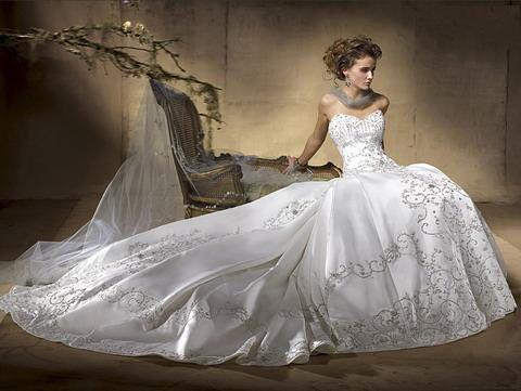 Amalia Carrara Robe de mariée #A17,A-Line,mariage original