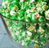 Green Candied Popcorn: Recipe