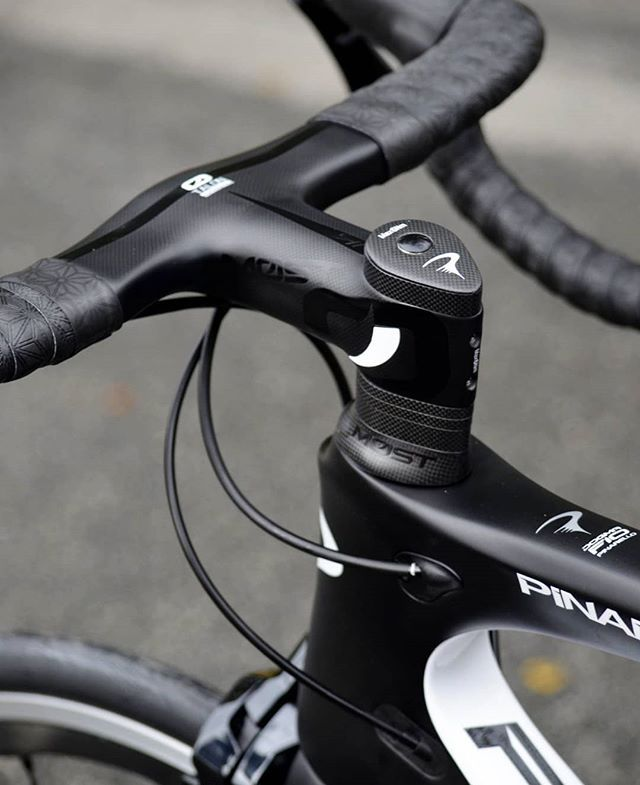 The Most Talon Aero Bar Stem Sits Flush With Your Pinarello Top Cap And Top Tube Cycling Pinarello Roadbikes Ro Pinarello Cycling Photography Gravel Bike