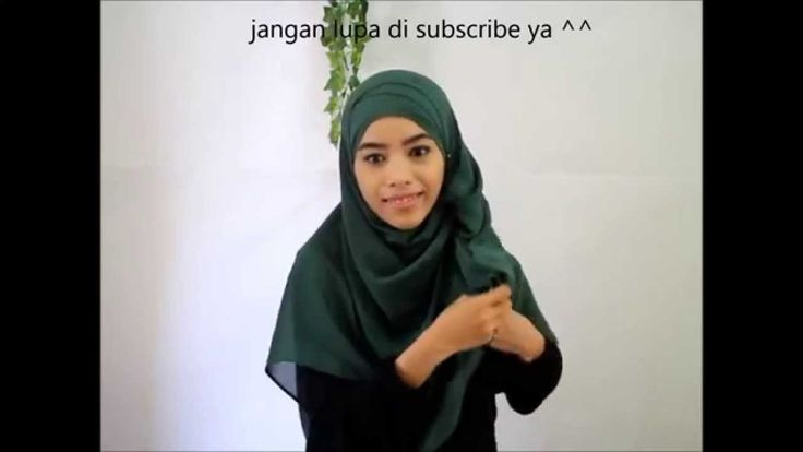 Hijab Syar'i Tutorial: Easy Graduation | triadilah