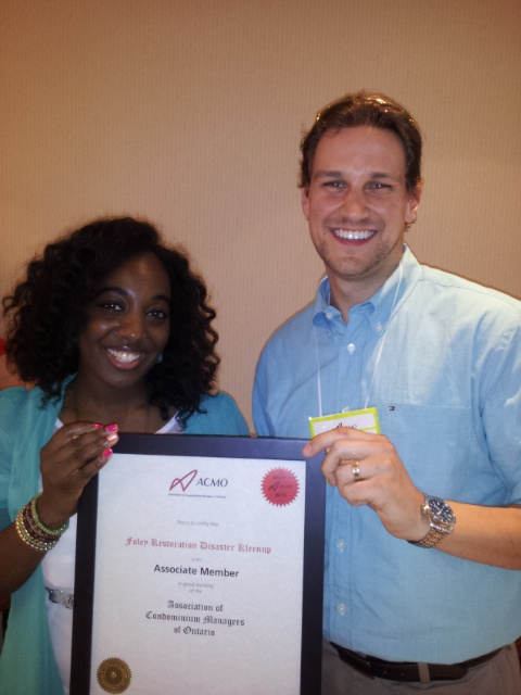 Steve accepting our certificate of membership from the ACMO New Members Manager at last Fridays ACMO luncheon! Well done Steve!
