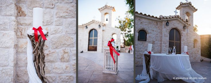 #artindustrygr #GoldfishWedding #wedding #syros #WeddingDecoration #church #WeddingCandle