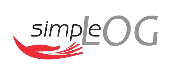 logo for simple logistics service