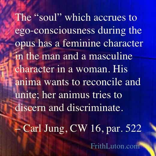 I have been compelled, in my investigations into the structure of the unconscious, to make a conceptual distinction between soul and psyche....