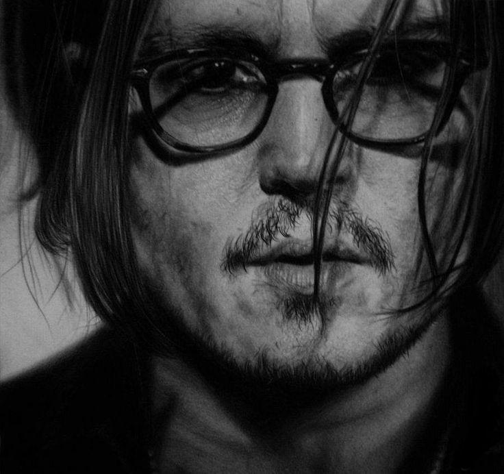 Johnny Depp   by Lukasz Stopczynski   Pracownia Sztuki SZKIC
