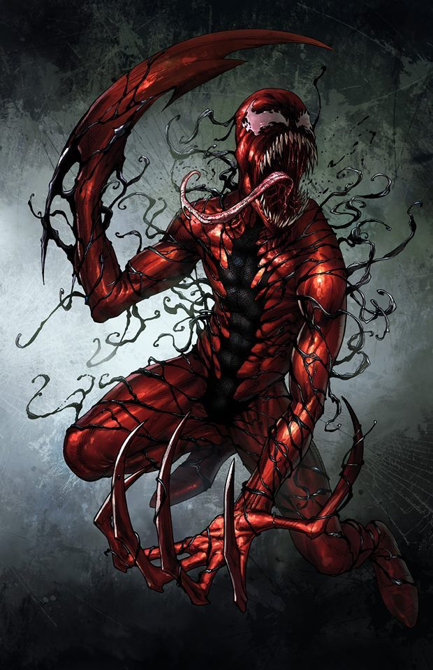 "Carnage - Mike S. Miller I know he's not a ""hero"" but, oh well"