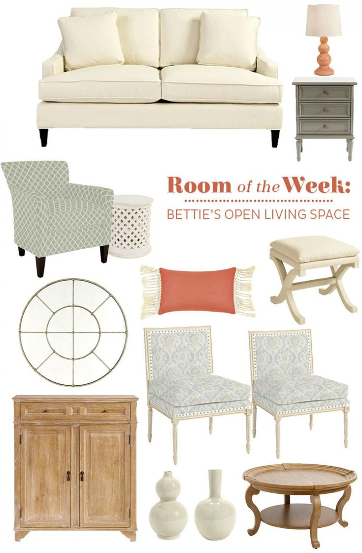 Helping Bettie decorate her open living space with furniture, paint, and accessories