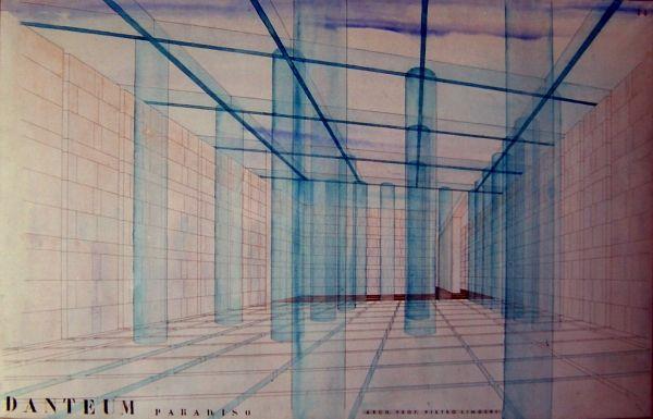 Terragni - Progetto per il Danteum, Roma