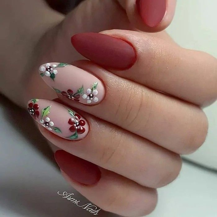 Keep reading for 90 of our favorite easy winter nail designs to add to your manicure to-do list.