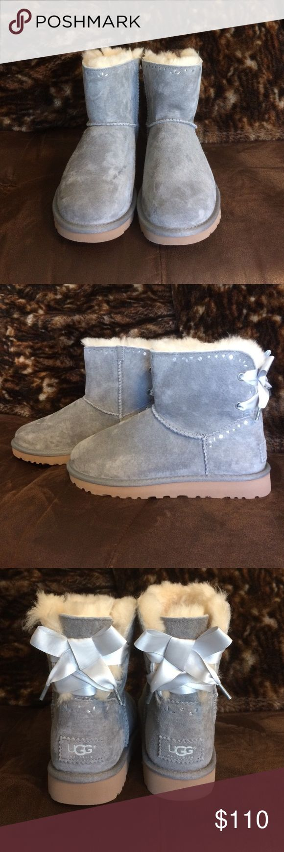Dixi Flora Perf Women's UGG Boots New never used original UGG Boots. Color light grey. Don't have original box. UGG Shoes Winter & Rain Boots