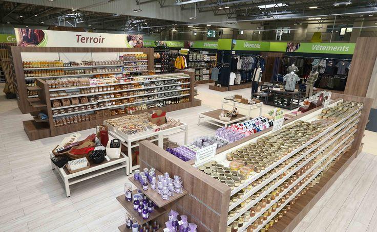 Jardinerie Solignac | Shop terroir alimentaire, gondoles, menuiseries | Groupe Lindera