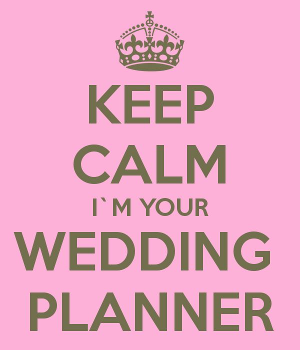 keep calm i'm your wedding planner - Cerca con Google