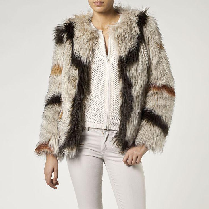 Manteau femme IKKS (BE46095)   Vêtement Femme Hiver 14