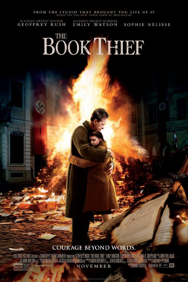 The Book Thief (2013). Good, well balanced. With lots of elements to bring depth to the experience. Loved it