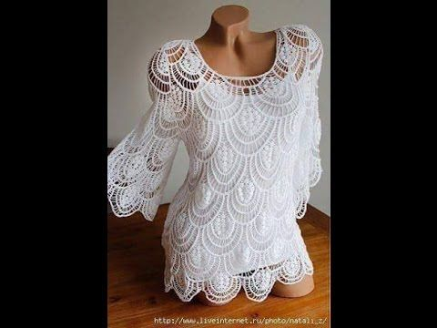 Adorable Crochet Blouse - ilove-crochet