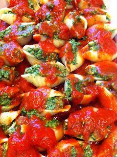 Minus the Daiya... Project Kale: Stuffed Shells & When In Doubt, Add More Garlic