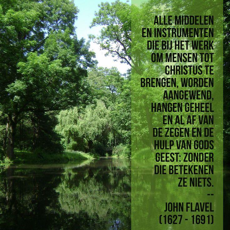 De zegen en de hulp van Gods Geest - John Flavel (1627 – 1691)