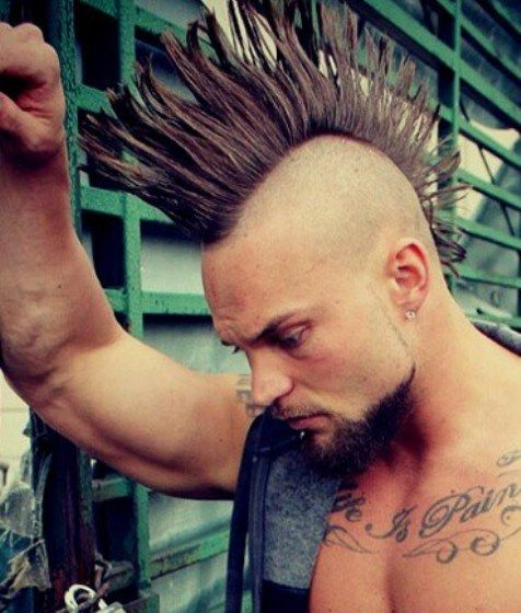 15 Mohawk hairstyles for men. Hairstyles for men. Pompadour hairstyles for men…