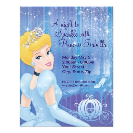 Cinderella Birthday Invitation - click to get yours right now!