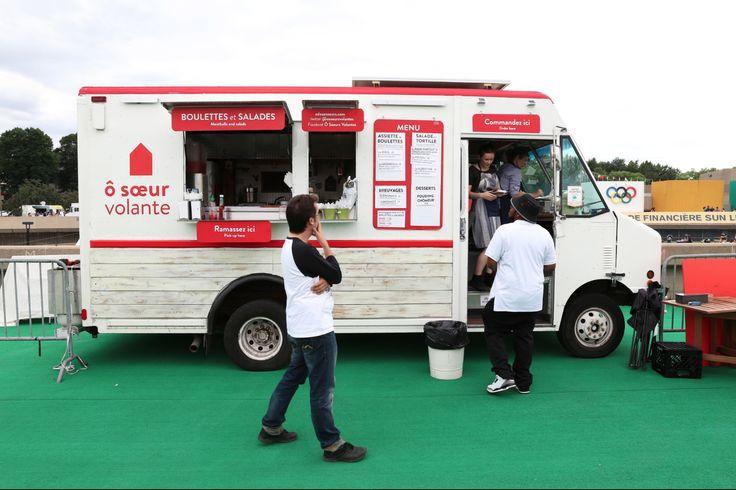 Camion Ô Sœur Volante, Montréal  « POUR LES BOULETTES!!! Boeuf, saumon, porc, tofu, aubergine… Le choix est varié, c'est de la qualité, et j'ai toujours un bel accueil! »