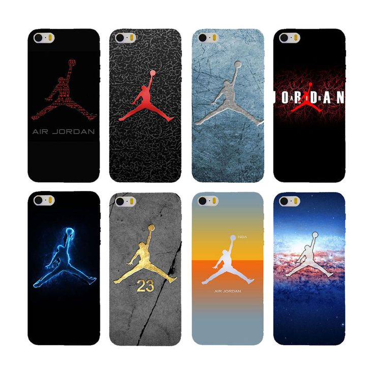 New Fashion 23 Basketball Player Jordan Phone Case for iphone 7 plus case 5.5 inch Clear Plastic Matte Hard Back Cover