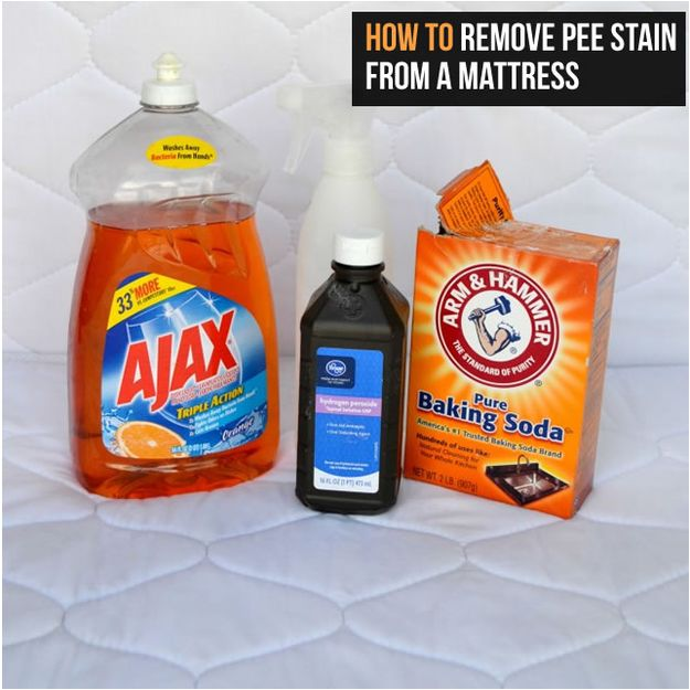 baking soda is also a key part of removing pee stains from a mattress 27 household cleaning. Black Bedroom Furniture Sets. Home Design Ideas