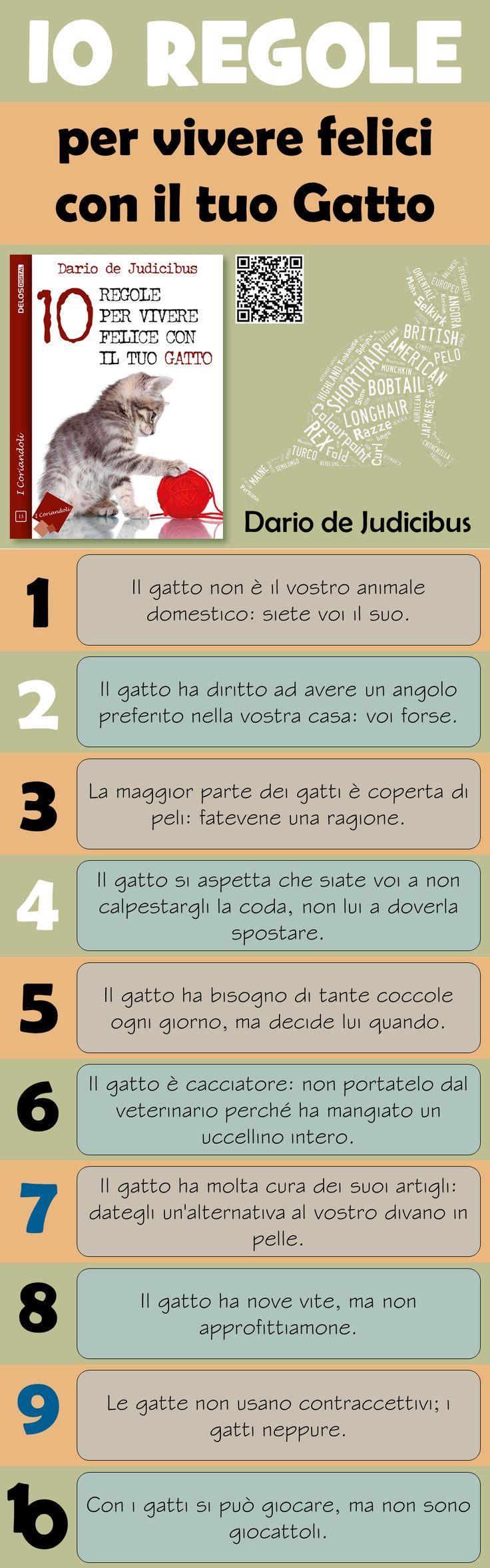 Dario de Judicibus, «10 regole per vivere felici con il tuo Gatto», Collana «I Coriandoli», #13, Delos Digital, 2016, ISBN 9788865309438