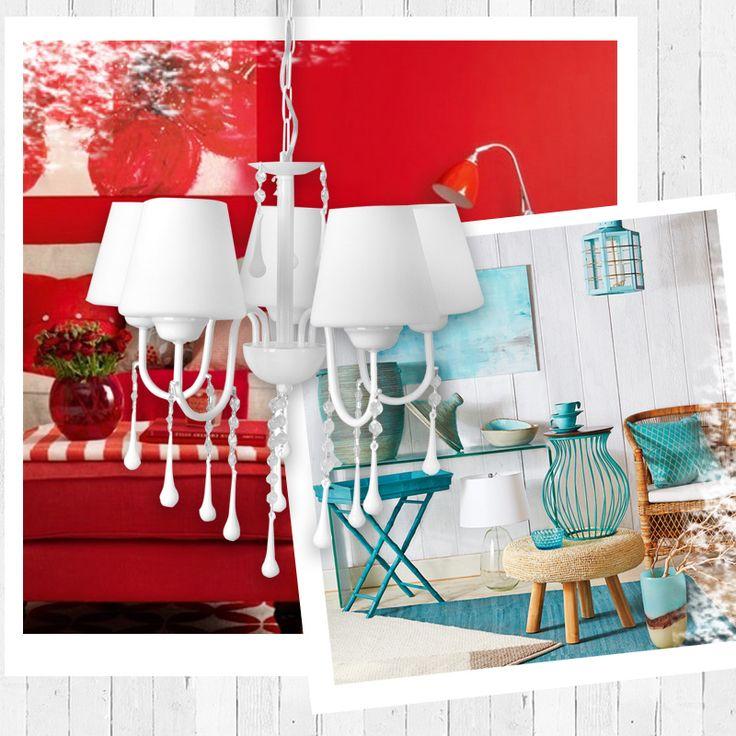 Şık tasarımı ile dekorasyonlarınızı süsleyecek Nisa Luce 5'Li Kuğu Boncuklu Avize sadece 99.90 TL! #dekorazoncom >> http://www.dekorazon.com/nisa-luce-kugu-boncuklu-avize-5li-beyaz-86976?utm_source=pinterest&utm_medium=post&utm_campaign=nisa-luce-kugu-boncuklu-avize-5li-beyaz