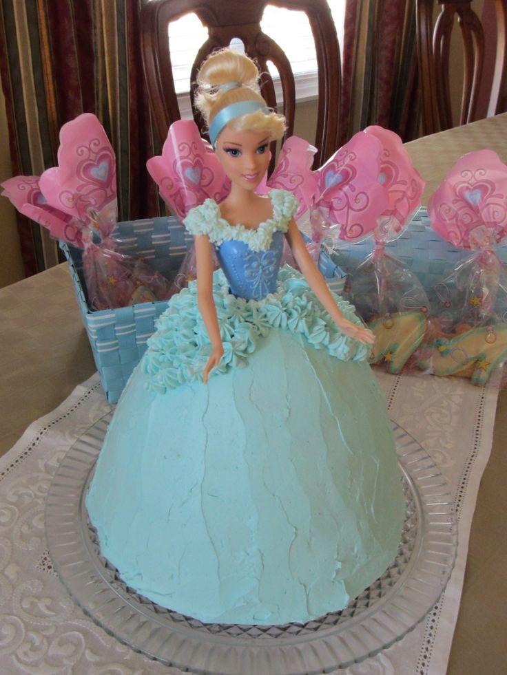 25 Best Ideas About Frozen Barbie Cake On Pinterest