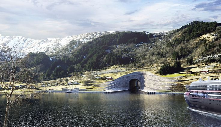 Norway is aiming to build a tunnel for ships, stretching to over 5,000 feet, which will be the first of its kind. The Stad Ship Tunnel will let ships avoid part of the Stadlandet peninsula, which is narrow and where the weather conditions pose a possible danger for ships, NBC News reports. The tunnel will be around 118 feet wide and 162 feet tall. Ships that weigh up to 16,000 tons will be able to travel within the tunnel, which is expected to cost around $314 million. The construction of…