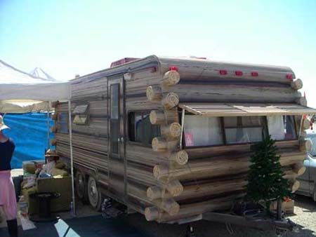 Log Cabin or Mobile Home?