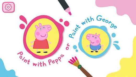 Free iOS apps for kids: Peppa's Paintbox - Library Technology - Reviews, Tips, Giveaways, Freeware - TechTipLib
