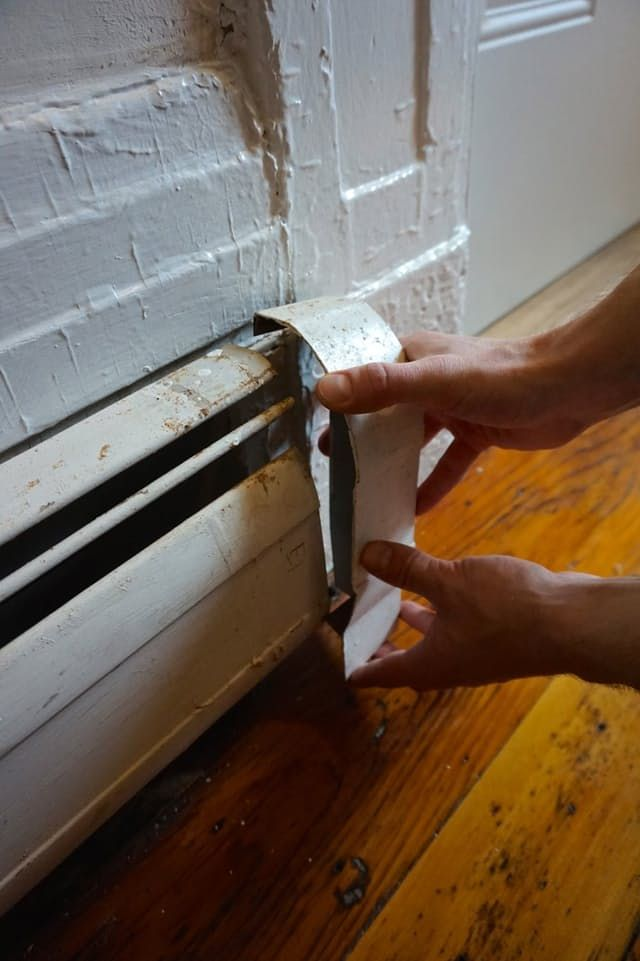 1000 ideas about heater covers on pinterest baseboard for Paint baseboard heater